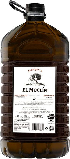 aceite de oliva arbequina